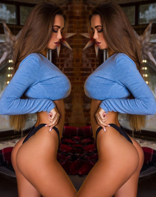 Double vision… not always a bad thing… just sayin'…