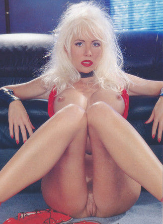 See and Save As helen duval beautiful blonde in red latex and high heels porn pict – 4crot.com