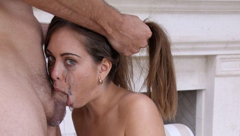 deep throat trainee