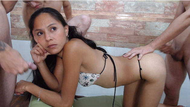 please touch me couple chat room with a young camgirl a three sex hungry guys