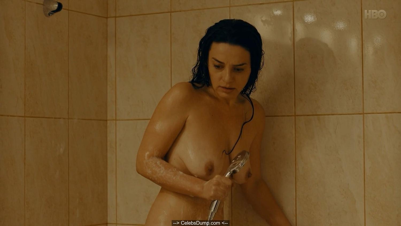 Maria Obretin nude in a bathtube