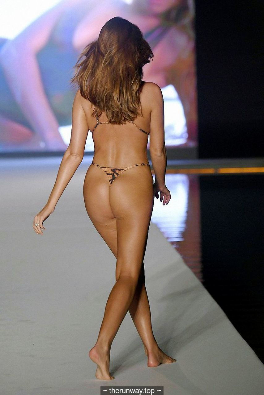 Haley Kalil sexy runway in bikinis and swimsuits