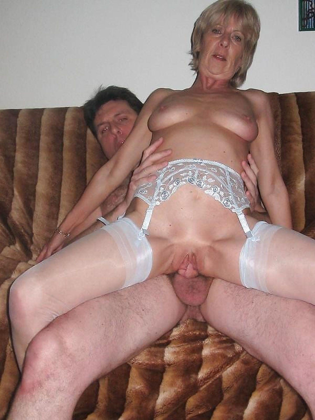 Wild old mom rides a fat cock for privat porno picture