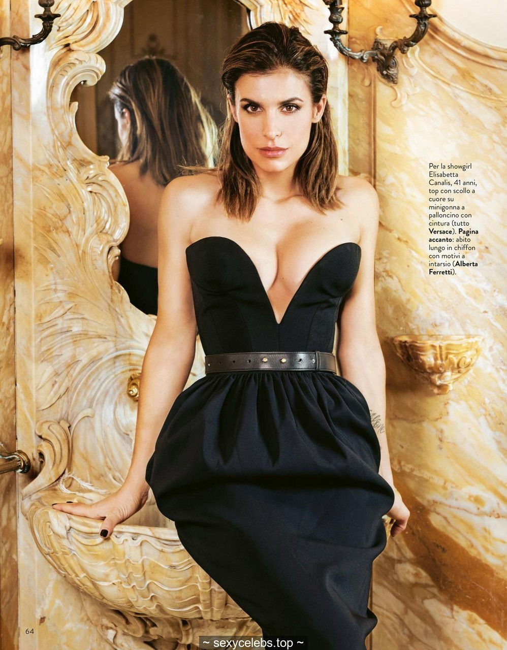Elisabetta Canalis sexy for Grazia magazine, Italia – March 05, 2020
