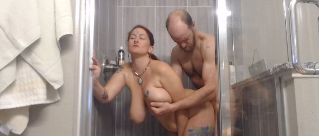 Hot MILF spiritual_slut fucked in the shower on her live show – Live Cam Show!