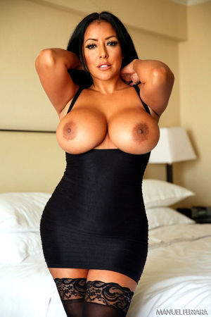 Big tits and stockings
