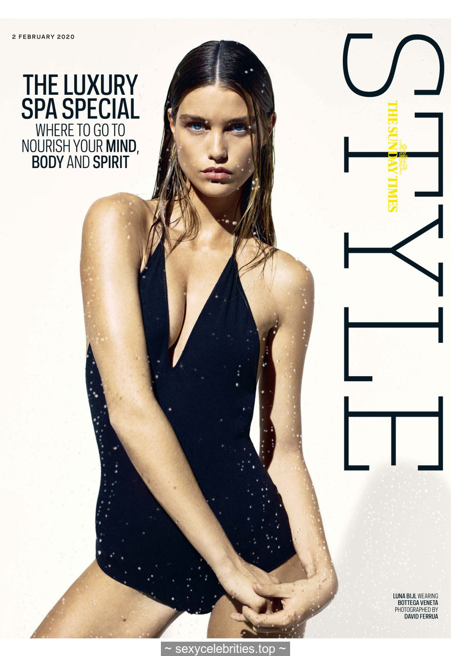Luna Bijl sexy for The Sunday Times Style – February 02, 2020