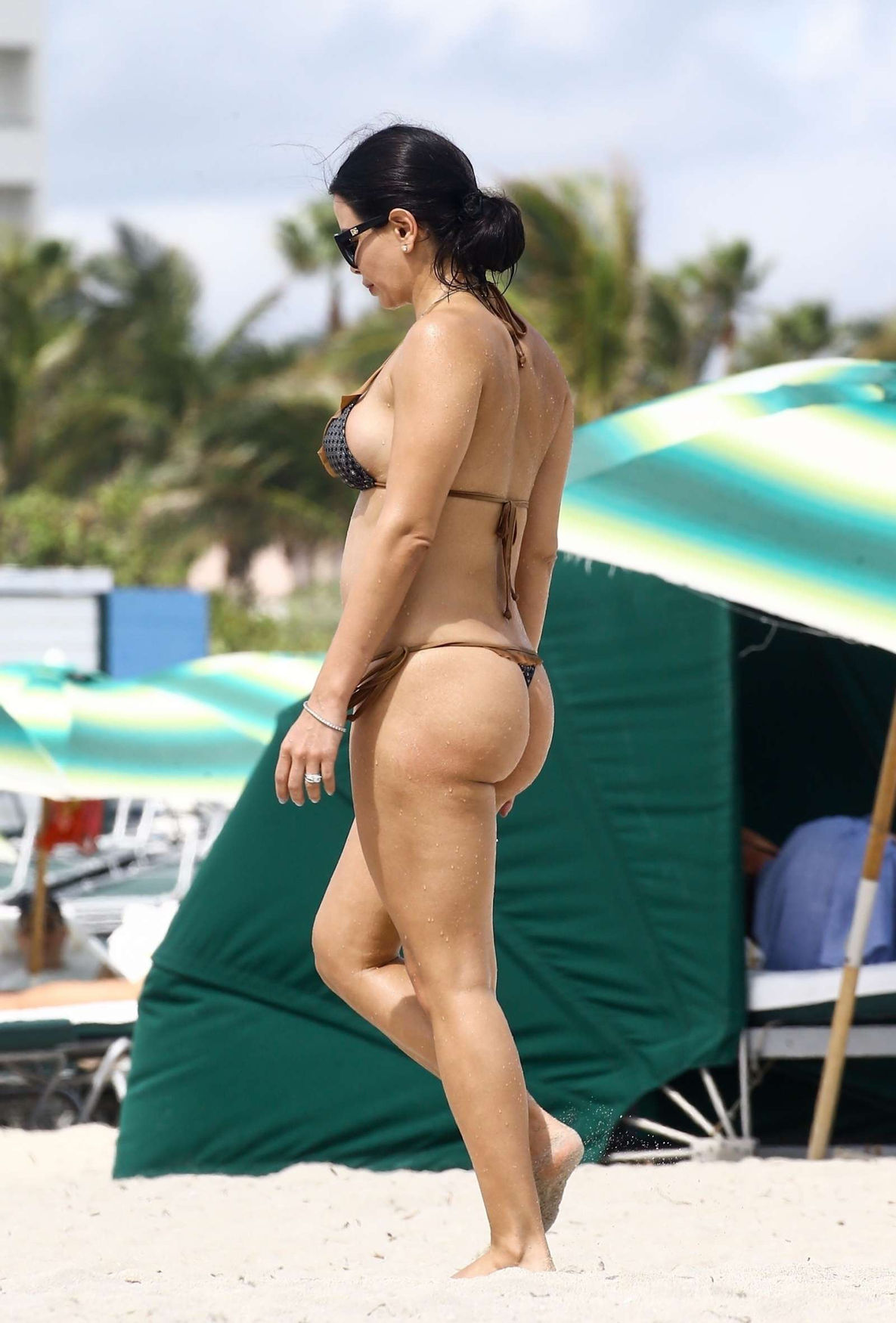 Name: Kathy Picos, Profession: Fitness Model, Nationality: Peru, Place of Residence: Miami, Flor ...