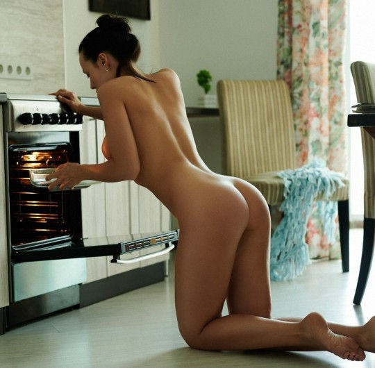 She is welcome to make my kitchen hot anytime…