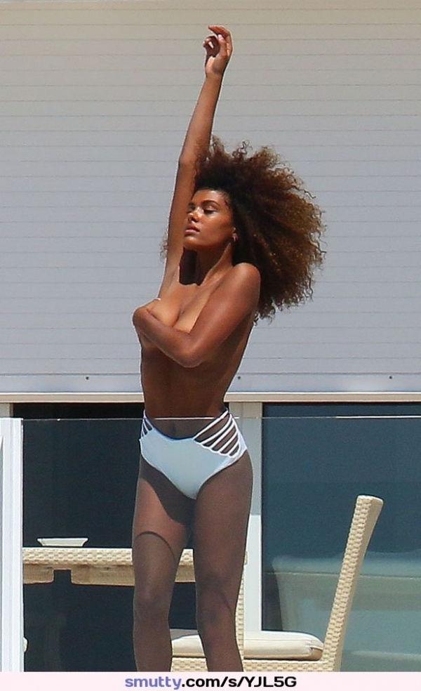 Name: Tina Kunakey, Profession: Fashion Model, Ethnicity: Black, Nationality: France, Place of B ...