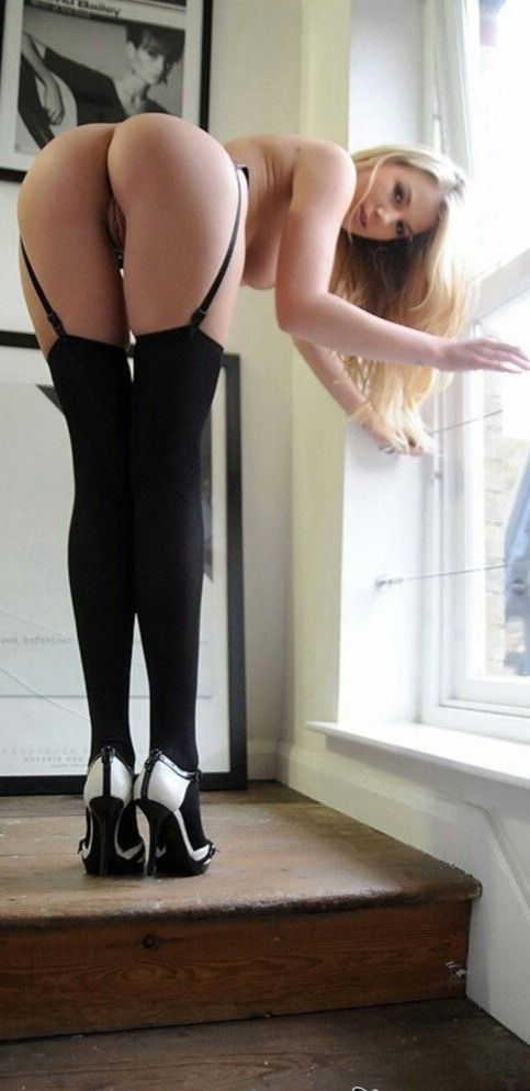 What creamy ass cheeks she's got. Needs a good spanking.