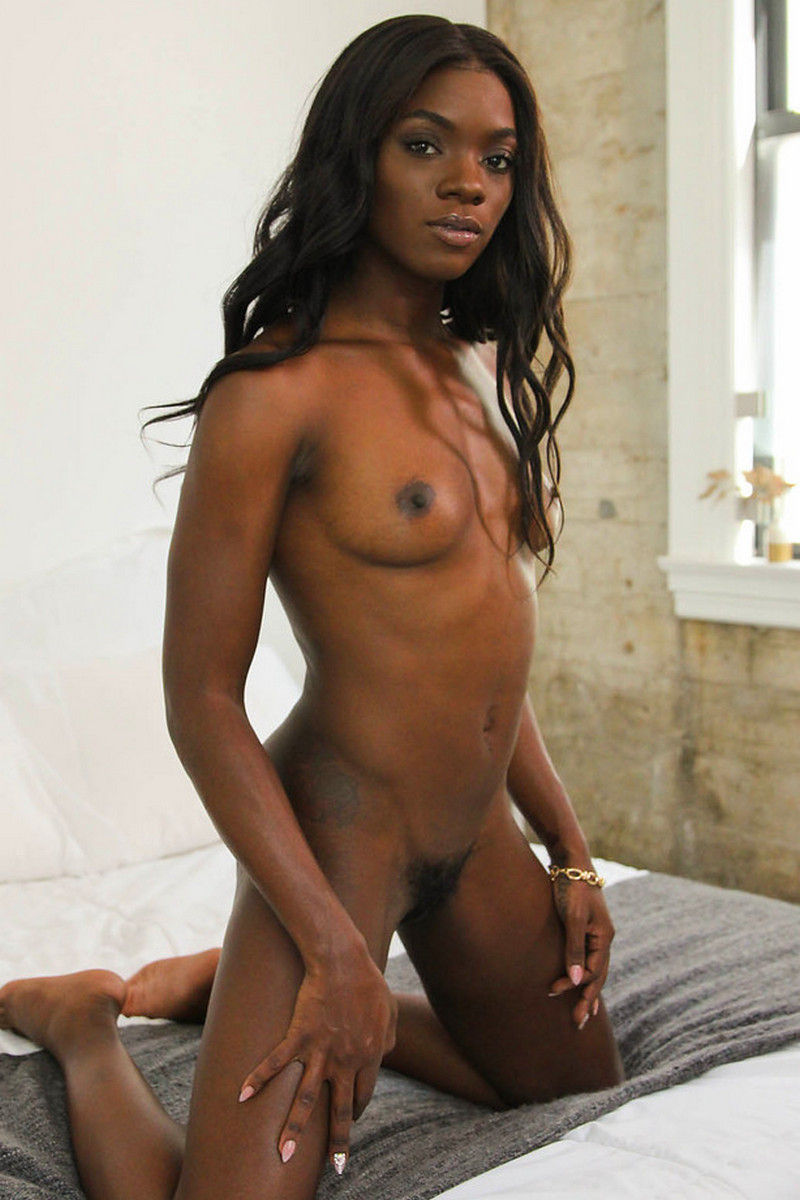 Ebony young milf Nubiles pornstar with shaved pussy Ana Foxxx Deep lush profile
